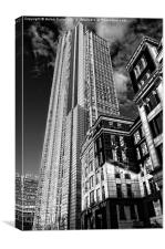 HERON BUILDING, Canvas Print