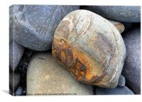 PEBBLES - NATURE'S SCULPTURES, Canvas Print