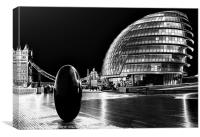 LONDON ASSEMBLY, Canvas Print