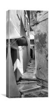 ALLEY IN HANIA, CRETE, Canvas Print
