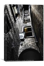 NARROW ALLEY, Canvas Print