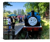 THOMAS THE TANK ENGINE, Canvas Print