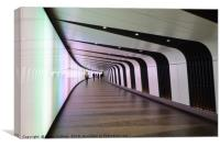 KING'S CROSS TUNNEL, Canvas Print