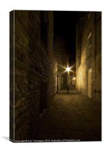 Alleyway in Bath, Canvas Print