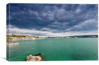 Plymouth Hoe, Canvas Print