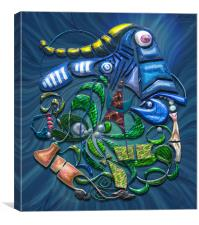 Dreaming with the Fishes, Canvas Print