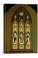North Stained Glass Window Christ Church Cathedral, Canvas Print