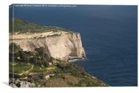 Dingli Cliffs, Malta, Canvas Print
