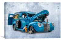 Ford Panel Truck, Canvas Print