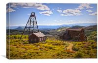 The Old Mine, Canvas Print