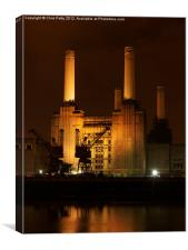 Battersea Power Station, London , Canvas Print