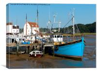 Woodbridge, Suffolk, Canvas Print