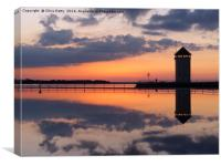 Brightlingsea, Essex , Canvas Print