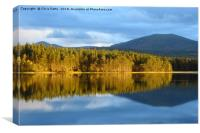 Loch Garten, Cairngorms National Park, Scotland   , Canvas Print