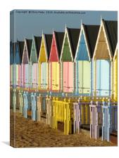 West Mersea, Essex, Beach huts , Canvas Print