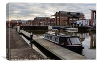 Gloucester Waterways, Canvas Print