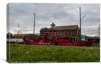 Sula Lightship Gloucester, Canvas Print