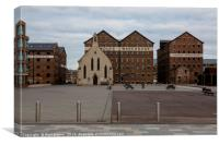 Mariners Church Gloucester Docks, Canvas Print