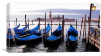 Morning in Venice, Canvas Print