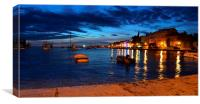 Evening in Rovinj, Canvas Print