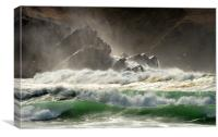 Waves, Canvas Print