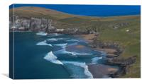 Coumeenole beach, Canvas Print