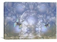 Butterfly Realm, Canvas Print
