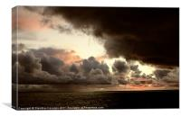 Storm is coming, Canvas Print