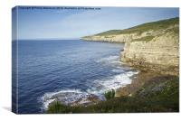 From Seacombe Cliff, Canvas Print