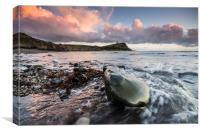 Kimmeridge Bay, Canvas Print