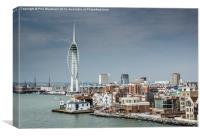 Leaving Portsmouth, Canvas Print