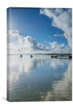Rockley Reflections, Canvas Print