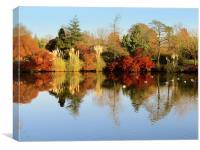 Wakehurst In Autumn, Canvas Print