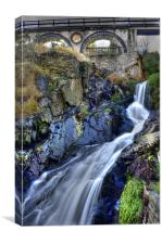 Laxey Mines, Canvas Print