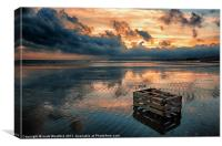 Sunset Normans Bay, Canvas Print