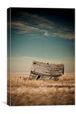 Leaning Towards The Past, Canvas Print