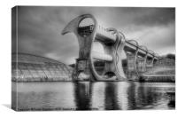 Falkirk Wheel, Canvas Print