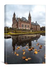 Peace Palace in The Hague, Canvas Print
