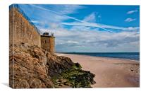 Broughty Ferry Beach, Canvas Print