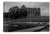 Linlithgow Palace and Peel, Canvas Print