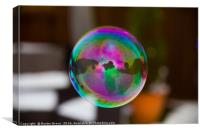 Blowing Bubbles, Canvas Print