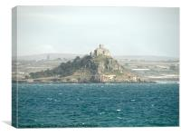 St Michael's Mount, Cornwall, Canvas Print