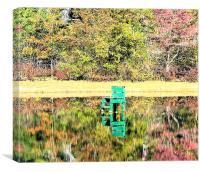 Life Guard Stand, Canvas Print