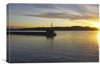 Early Morning Padstow Harbour, Canvas Print