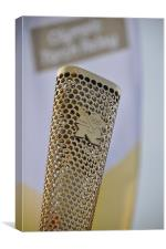 Olympic Torch, London 2012, Canvas Print