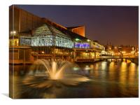 Princes Quay, Canvas Print