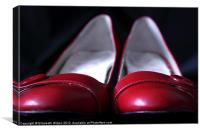 Red Shoes, Canvas Print