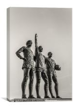 Manchester United Legends, Canvas Print