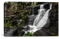 Lumsdale Falls 10.0                         , Canvas Print