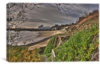 Folkestone Sands, Canvas Print